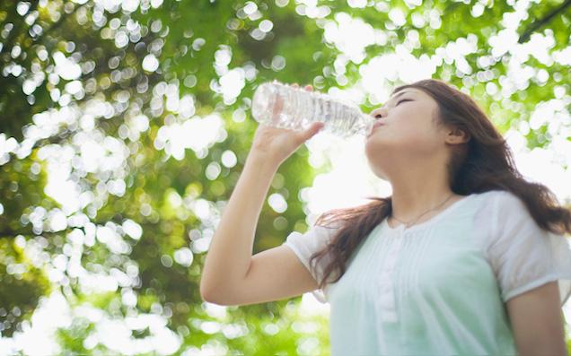 おいしい水で体の中からキレイになろう