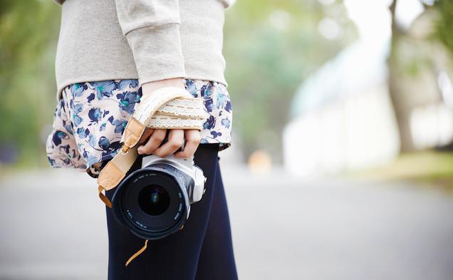 カメラ女子必見!カメラポーチで一眼レフもおしゃれに収納