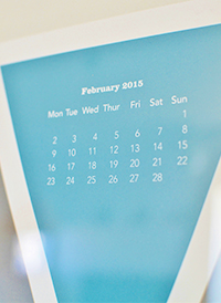 HELD & LYKKEポスターカレンダー