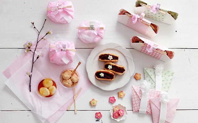 お花見や行楽にオススメ♪簡単かわいいお菓子とラッピング