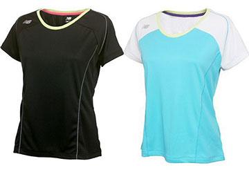 NEW BALANCE(ニューバランス) レディース切替Tシャツ