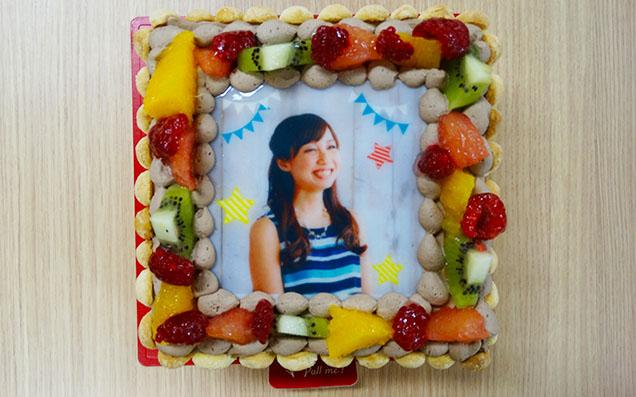 自分の写真がケーキに!?盛り上がれる上にとってもおいしいピクトケーキを注文してみた