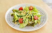 サラダはシャキッと、時短で美味しく!