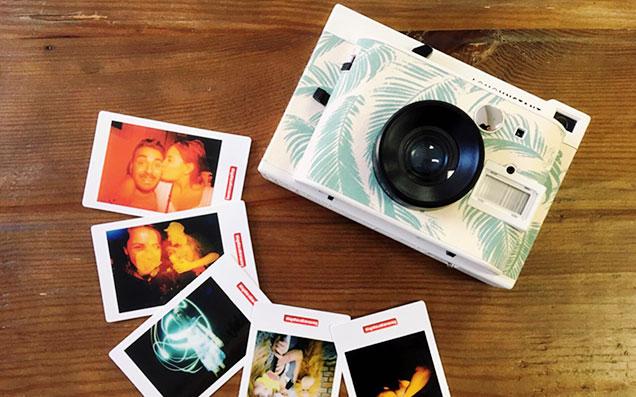 世界にたった一枚の写真をすぐカタチにして楽しめる!ロモグラフィーのインスタントカメラ「Lomo'Instant」