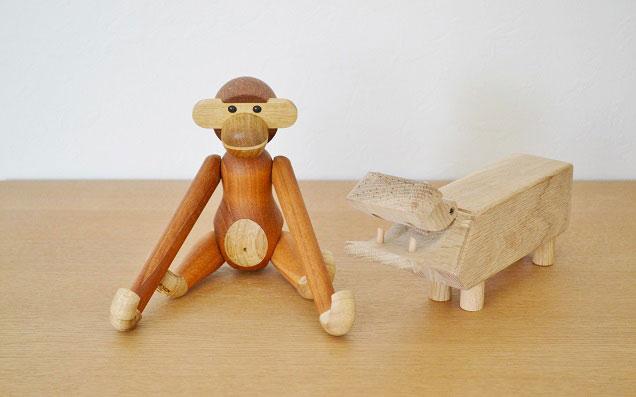北欧の可愛い名作おもちゃ「カイボイスン」を飾る