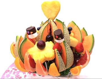 カットフルーツの詰め合わせ「ハッピーカラーフルーツ」