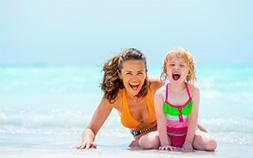 もうすぐ夏がやってくる!水中メガネで子どもとの水遊びを楽しもう