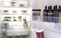 モノの住所を決めるだけ!100均・無印グッズで簡単スッキリ冷蔵庫収納術