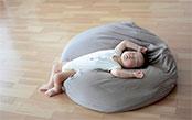 妊娠中や育児にも役立つビーズクッションの話