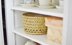 日本の手仕事を、収納グッズに取り入れよう!温かみあふれる竹の茶碗かご