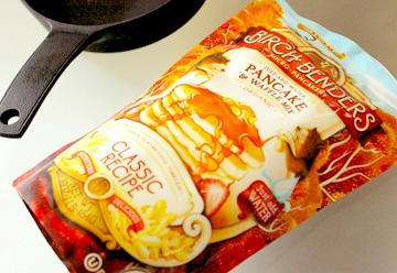 グルメオーガニックパンケーキミックス「バーチベンダーズ」