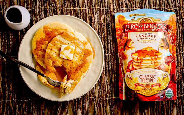 忙しい朝の救世主!水だけで作ることができる「オーガニックパンケーキミックス」が日本初上陸