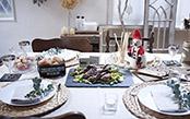 コストコやプチプラ雑貨をフル活用!クリスマスのディナーを素敵に演出しましょう♪