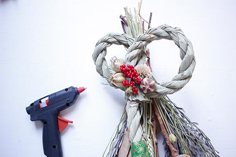 手作りのお正月飾り