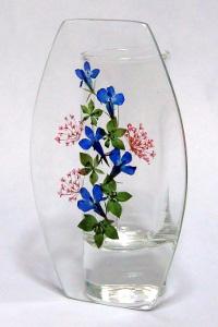 『押し花』レジン花瓶(ロベリア)