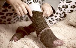 体の冷えは高品質素材・シルクが解決!腹巻きや靴下でLet's 温活