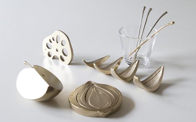 野菜のかけらが真鍮になっちゃった!テーブルを楽しませる暮らしの道具たち