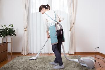 掃除機をかける頻度を見直す
