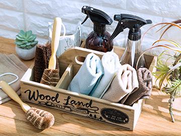 手付き木製ボックス