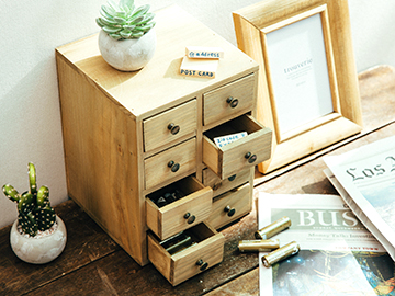 木製4段8ボックス