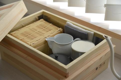 東屋 茶箱(5kg 平)