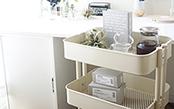 IKEAの定番!大人気キッチンワゴンの使い方3選!