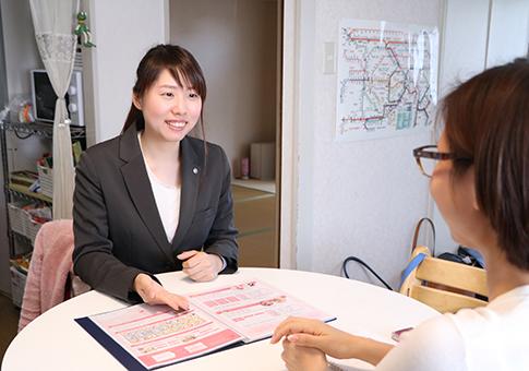 ベアーズ担当マネージャーの網野桃子さん