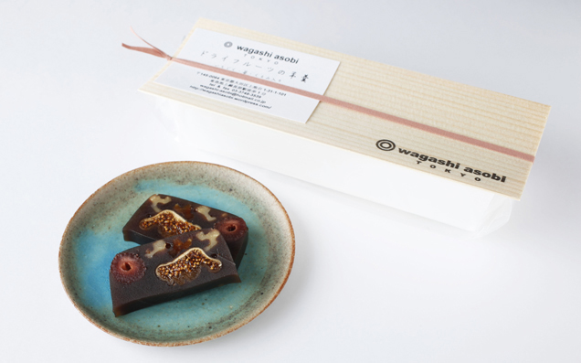 自慢したくなる手土産、み~つけた!ドライフルーツとハーブの和菓子はいかが?
