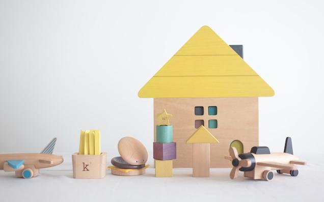 プレゼントにもぴったり おしゃれな木のおもちゃやさん「gg*(ジジ)」と「kiko+(キコ)」の話