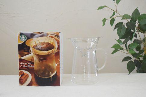 グラスドリップコーヒーメーカー
