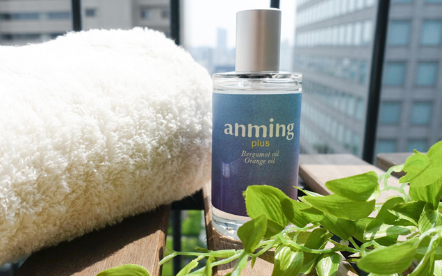 季節の変わり目は、アロマを上手に使って快適な眠りを誘う「anming plus リネンミスト」がおすすめ