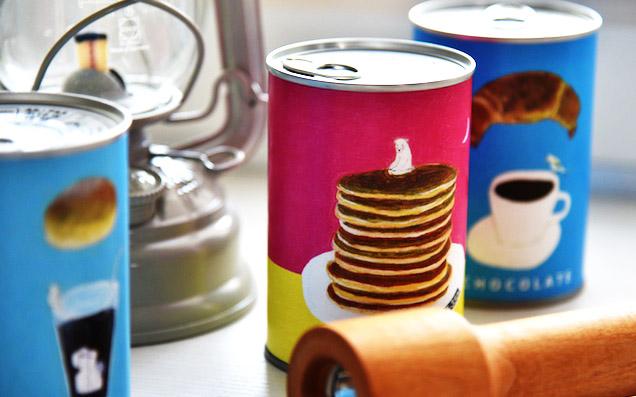 「もしもの備え」に、こんなにかわいいデニッシュ缶はいかが?