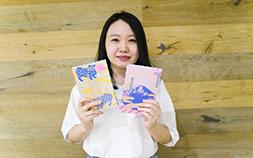 ポップでかわいい「kichijitsu」が描くcoolな御朱印帳の世界