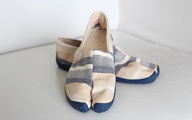 旅する「足袋」?  靴のストレスにさようなら 自分らしく過ごせる相棒「たびりら」で快足な毎日を!