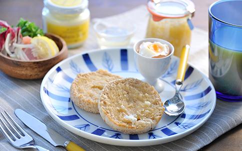 イングリッシュマフィン朝食セット