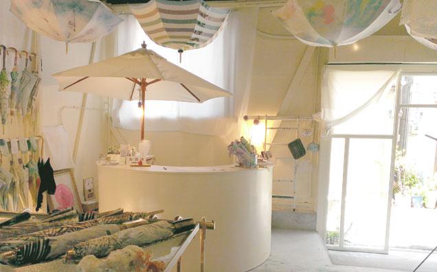 梅雨も真夏も楽しくなるアートな傘「Coci la elle」