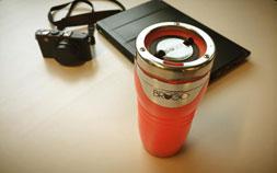 コーヒーを熱いまま保ち、適温で飲む!