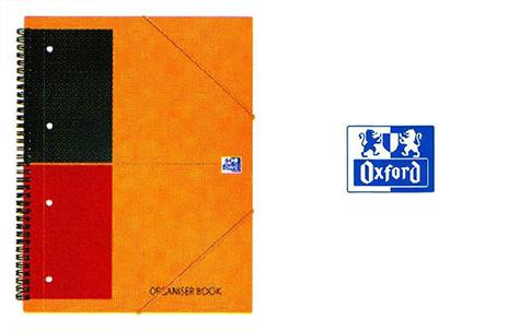 オックスフォード インターナショナルシリーズ ミーティングブック(ノート) A4+横罫 カラー:オレンジ
