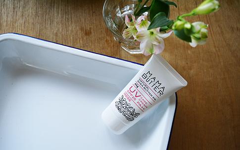 MAMA BUTTER(ママバター) UVケアクリーム ローズ SPF25 PA++ 45g(ローズの香り)