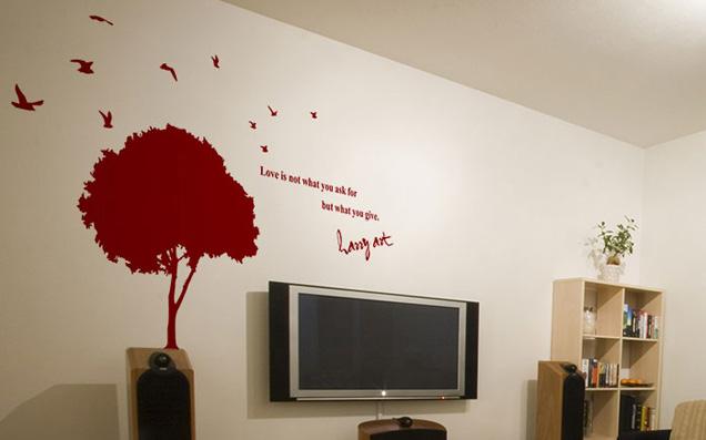 ウォールデコレーションで部屋の壁をおしゃれに!