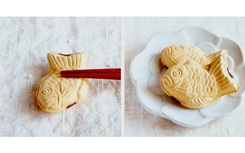 たい焼き お箸置き 美濃焼 縁起物