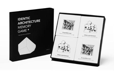 Cinqpoints サンク・ポワン アイデンティック 建築記憶ゲーム