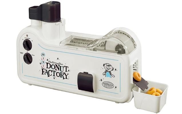 ドーナツを作ってくれるカワイイ工場!「Automatic Mini Donut Factory」