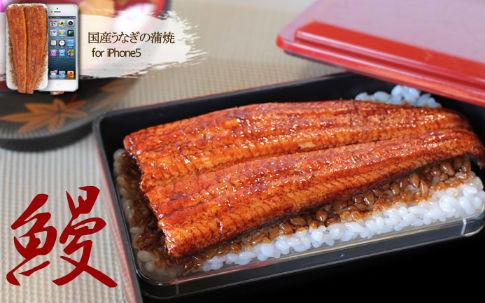 食品サンプル iphone ケース 国産うなぎの蒲焼