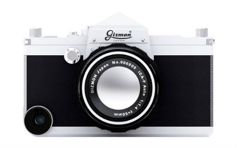 一眼レフカメラ風ケース GIZMON iCA5 SLR