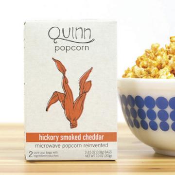Quinn popcorn(クインポップコーン)/ ヒッコリースモークドチェダー