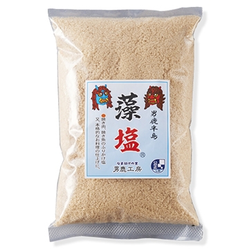 男鹿半島の塩 藻塩