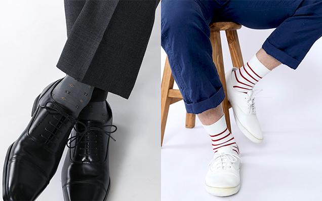 男性がもらって嬉しいプレゼント:靴下編