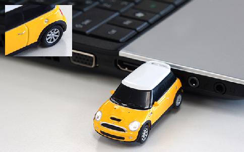 オートドライブ ミニクーパー USBフラッシュメモリー 8GB